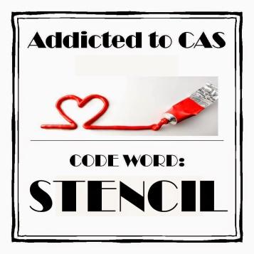 ATCAS - code word stencil